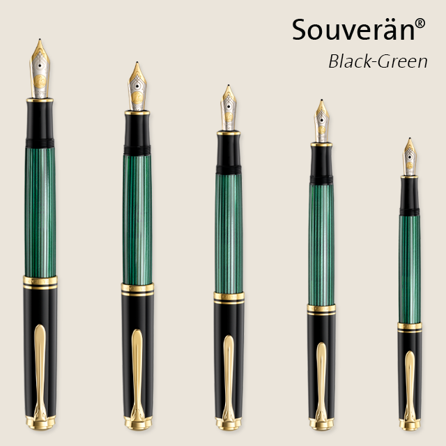 When Size Matters: Pelikan Souverän Fountain Pen Sizes