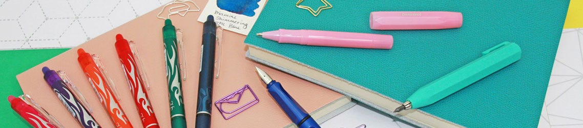 Pens and Pencils for kids activities