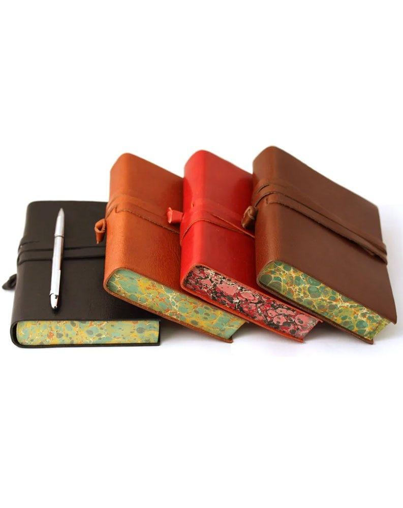Chianti Medium Leather Journal