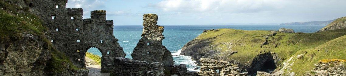 Tingatel Ruins, Cornwall