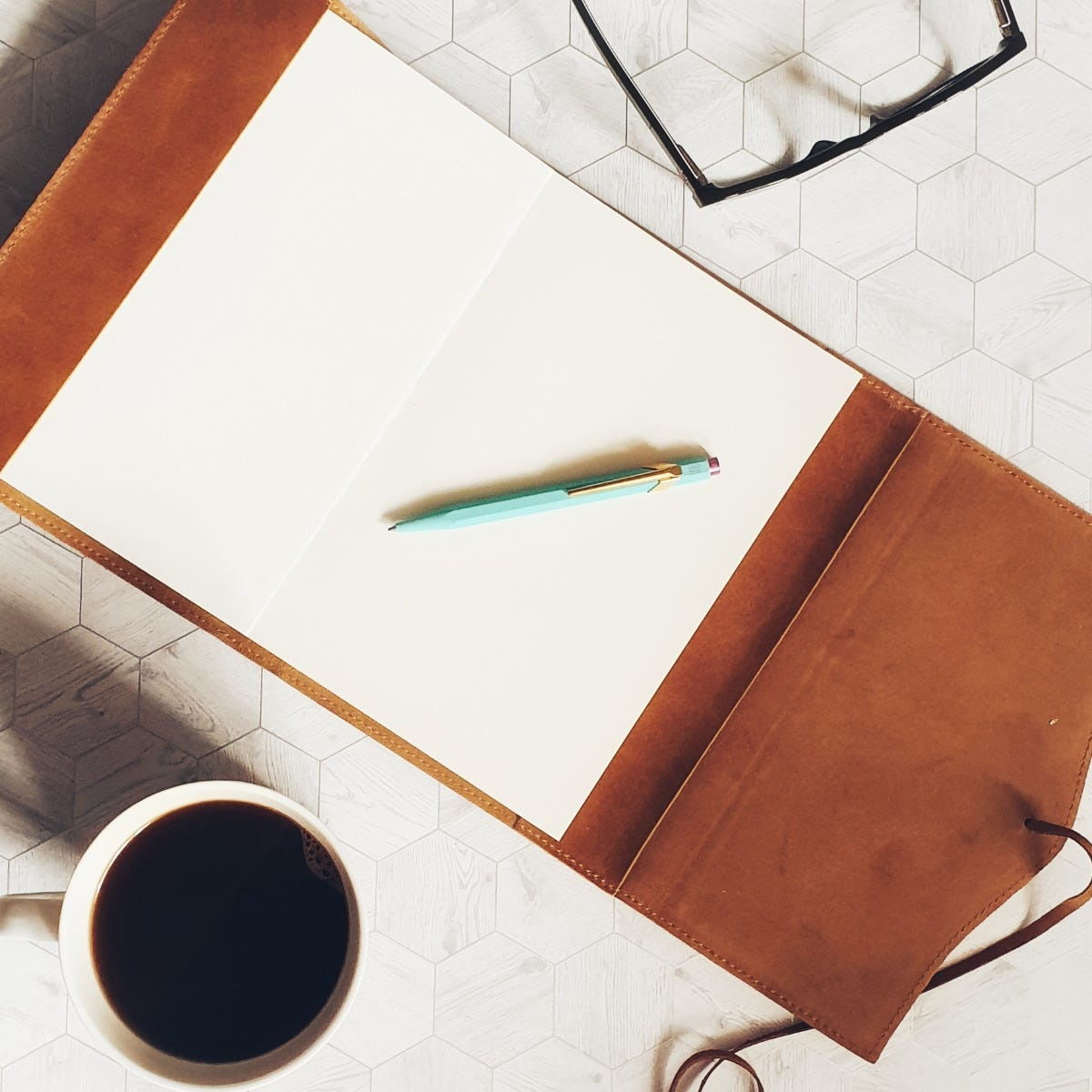 Amalfi Journal and Caran d'Ache 849 'Claim Your Style' Ballpoint - Photo Courtesy of Sim's Life