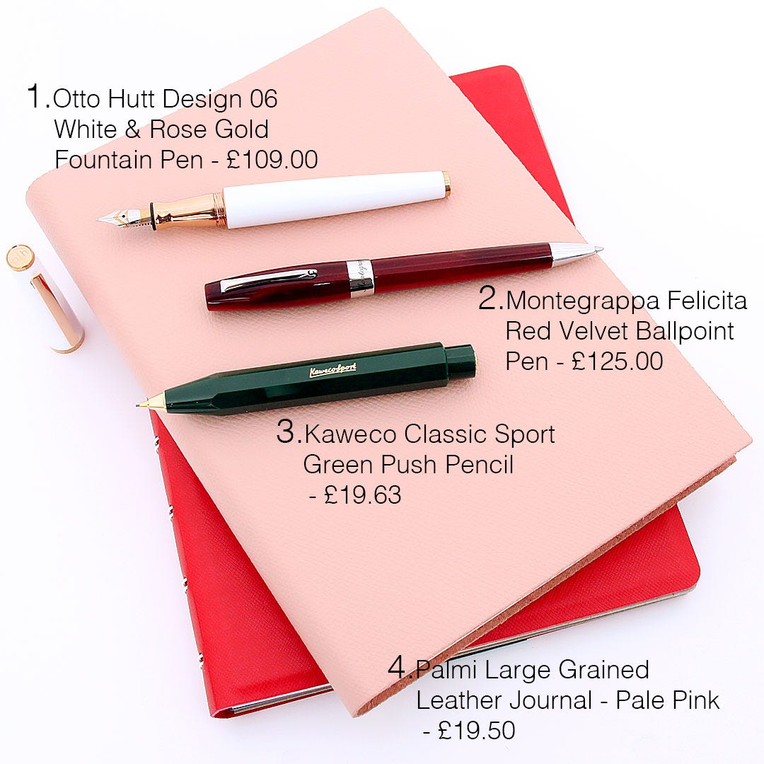 Pen Heaven's selection of products to match 'Summer Meadow' Spring/Summer 2019 Fashion Trends from London Fashion Week