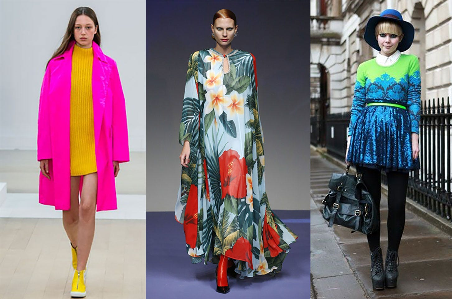 Spring/Summer 2019 Fashion Trends from London Fashion Week: 'Summer Meadow'