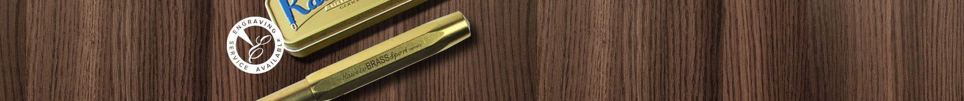 kaweco brass sport fountain pen