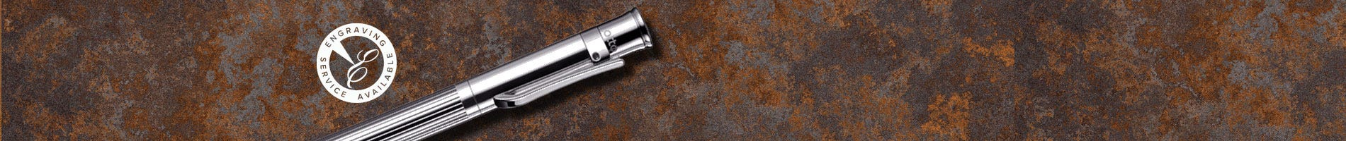 Otto Hut lined sterling silver design 04 pencil