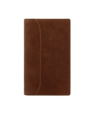 Filofax Lockwood Pocket Slim Organiser - Cognac