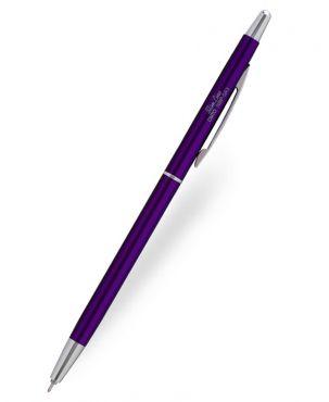 Ohto Slimline Purple Ballpoint Pen