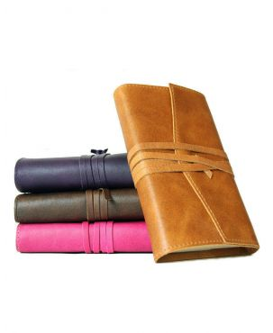 Amalfi Small Refillable Leather Journal