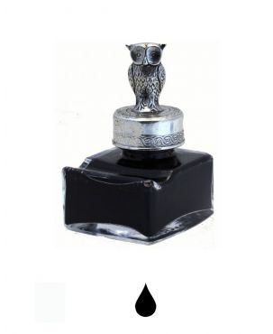 Pewter Ink Bottle - animal bottles
