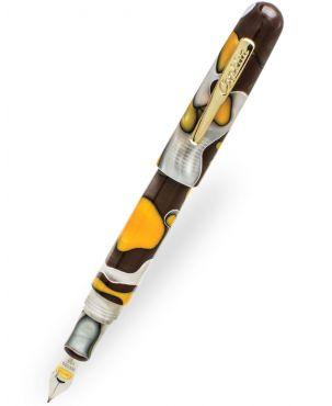 Conklin All American Yellow Stone Fountain Pen