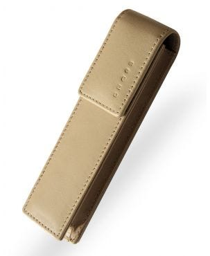 Cross Double Pen Case - Sand