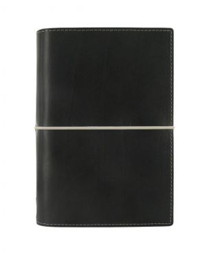 Filofax Domino Personal Organiser - Black