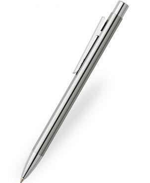 Faber-Castell Neo Slim Polished Steel Ballpoint Pen