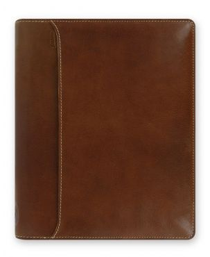 Filofax Lockwood A5 Zip Organiser - Cognac