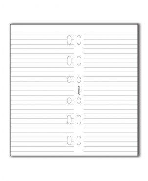 Filofax Pocket Refill - White Ruled Notepaper