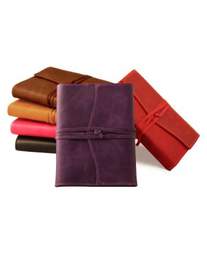 Amalfi Medium Refillable Leather Journal