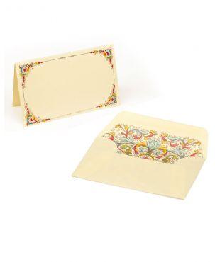 Kartos Set of 10 Medium Folded Cards & Envelopes - Florentia