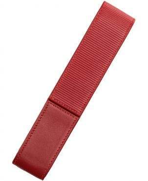 Lamy A314 Nappa Leather 1 Pen Case - Red