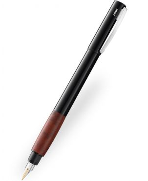 Lamy Accent Brilliant Briar Wood Fountain Pen