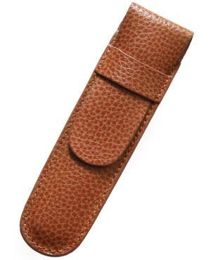 Laurige Leather 1 Pen Case - Tan