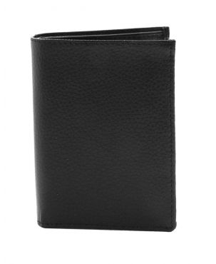Laurige European Leather Wallet - Black