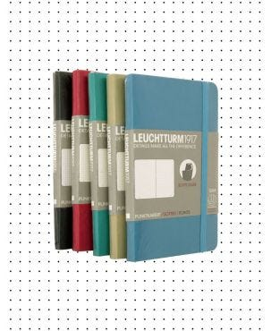 Leuchtturm1917 Pocket Soft Cover Notebook - Dotted Paper