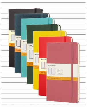 Moleskine Hard Cover Pocket Notebook - Lined