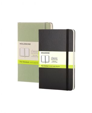 Moleskine Hard Cover Pocket Notebook - Plain
