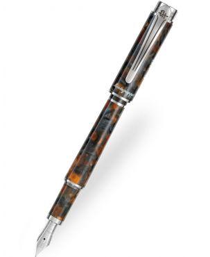Montegrappa Ernest Hemingway Novel Amber Grey Fountain Pen