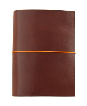 Paper Republic Grand Voyageur Leather Travel Notebook - Chestnut