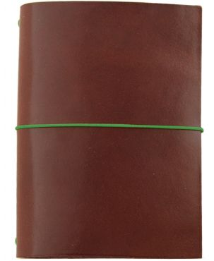 Paper Republic Grand Voyageur XL Leather Travel Notebook - Chestnut