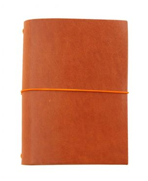Paper Republic Grand Voyageur Leather Travel Notebook - Cognac