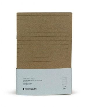 Paper Republic Refill 02 - Passport - Lined Pages (Pack of 2)