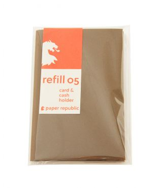 Paper Republic Refill 05 - Card & Cash Holder
