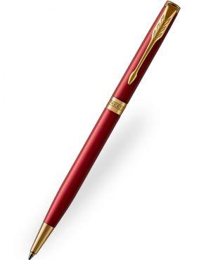 Parker Sonnet Slim Red Ballpoint Pen