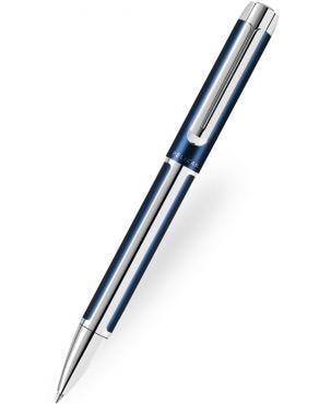 Pelikan Pura K40 Blue-Silver Ballpoint Pen