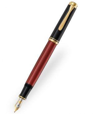 Pelikan Souverän M600 Black-Red Fountain Pen