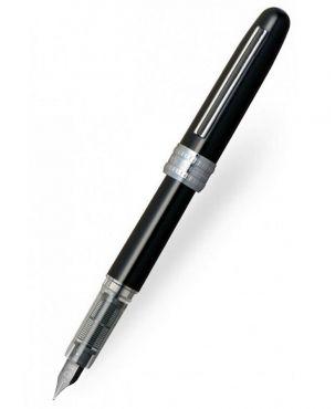 Platinum Plaisir Fountain Pen - Black (Fine nib)