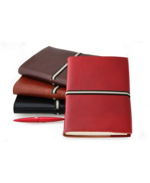 Roma Large Refillable Leather Journal