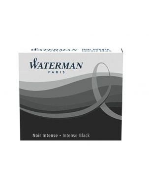 Waterman Short Ink Cartridges (Pack of 6)
