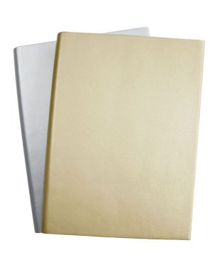Sorrento Large Leather Journal - Metallic Colours