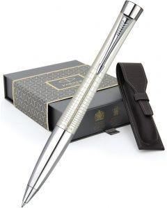Parker Urban Premium Pearl Ballpoint Pen & Leather Pen Pouch Gift Set