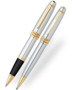 Cross Bailey Medalist Ballpoint & Rollerball Pen Set