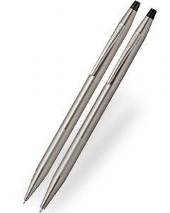 Cross Classic Century Titanium Grey Ballpoint & Pencil Set