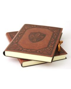 Fleur D'Lys Large Leather Journal
