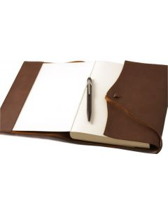 Amalfi Large Refillable Leather Journal