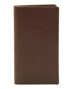 Laurige Leather Wallet & Travel Document Holder - Chocolate Brown