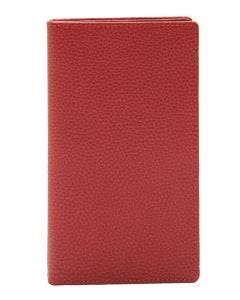 Laurige Leather Wallet & Travel Document Holder - Red