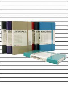 Leuchtturm1917 Pocket Hard Cover Notebook - Lined Paper