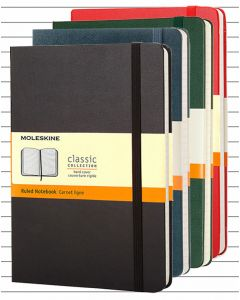 Moleskine Hard Cover Extra Large Notebook - Lined